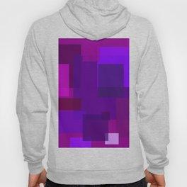 Purple Squares Hoody