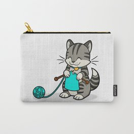 Knitty Kitty Carry-All Pouch