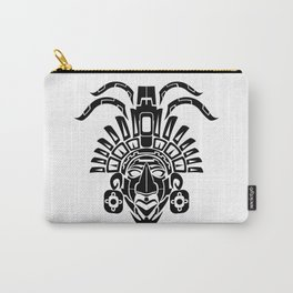 Mayan Mask Carry-All Pouch