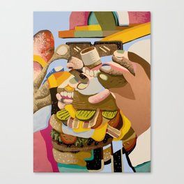 Two Foods at Once Canvas Print