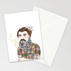 Flock of Beards Stationery Cards