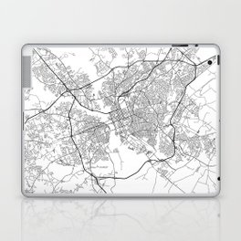 Minimal City Maps - Map Of Columbia, South Carolina, United States Laptop & iPad Skin