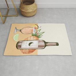 Summer Cocktails 3 Rug