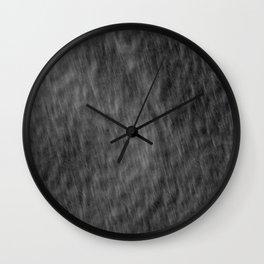 Fingernails on sound Wall Clock