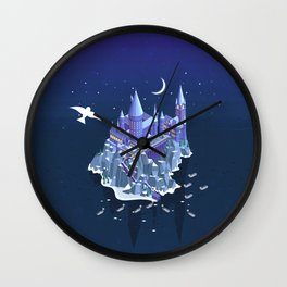 Hogwarts series (year 1: the Philosopher's Stone) Wall Clock