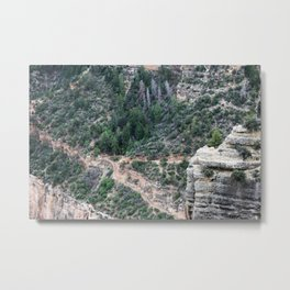 Let's hike Grand Canyon Metal Print
