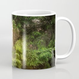 The Light Within - Beauty in the Washington Rain Forest Coffee Mug