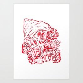 Say No To Love. Art Print
