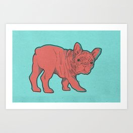 Frenchie Art Print