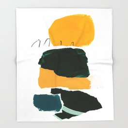 collage studies 18-03 Throw Blanket