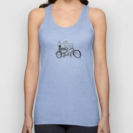 A Bicycle Built For Two Unisex Tank Top