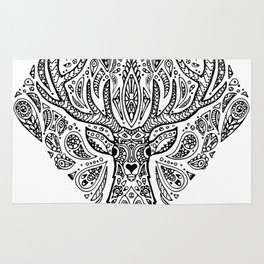 Deer Mandala Rug