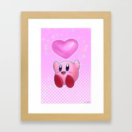 Poyo! Framed Art Print