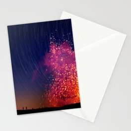 Kilauea Volcano Eruption .2 Stationery Cards