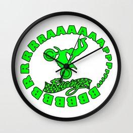 BBBBBBrrrrrrrraappppp Freestyle motocross Wall Clock