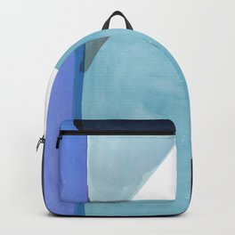 Tetra in Blue Backpack