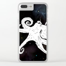 Space Pussy Clear iPhone Case