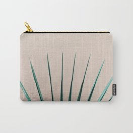 Peachy Palm Carry-All Pouch