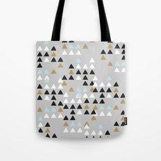 Scandinavian geometric pattern Tote Bag