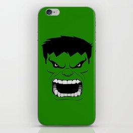 Minimalist Hulk iPhone Skin