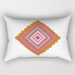 Spiral traingle Rectangular Pillow