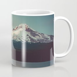 Sunset at Trillium Lake Coffee Mug