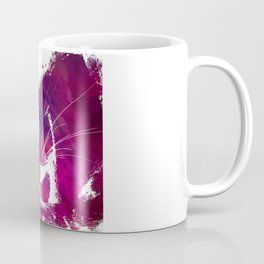 Purple cat Coffee Mug
