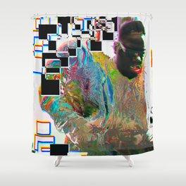 Glitch B.I.G Shower Curtain