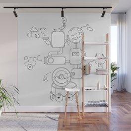How the creative brain works? Wall Mural