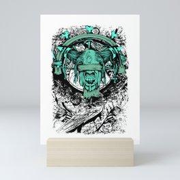 Horror Demon Scary Occult Monster Gothic Gift Mini Art Print