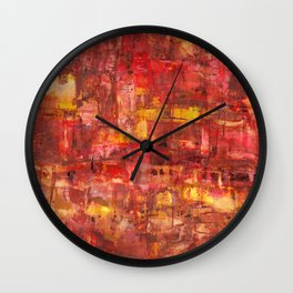 Persian Ruins Wall Clock