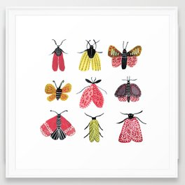 Butterflies, always butterflies Framed Art Print