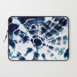 Tie Dye Sunburst Blue Laptop Sleeve