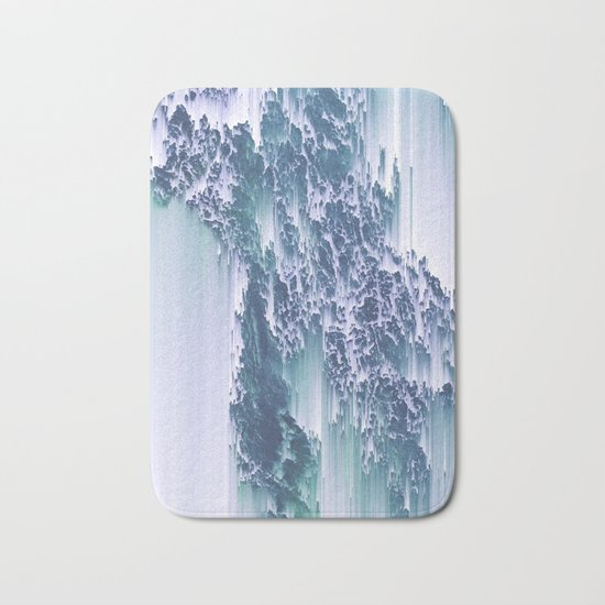 Comes and goes (in waves) Bath Mat