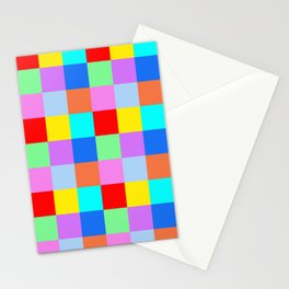 Patchwork of many Colors Stationery Cards