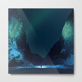 Northern Lights / Aurora Borealis Metal Print