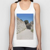 caleb troy Tank Tops featuring Troy by Malcolm Snook