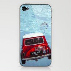 deep water swimming mini #1 iPhone & iPod Skin