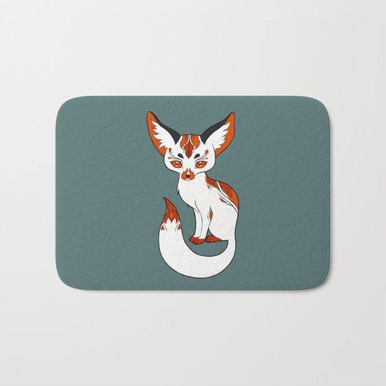 Mysterious Fox Bath Mat