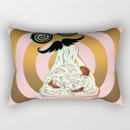 Mad ramen eater Rectangular Pillow