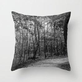 Buda hills Throw Pillow