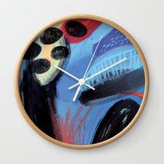 Drops I Wall Clock