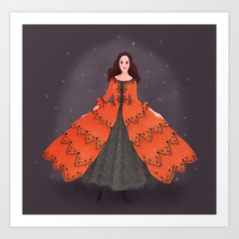 Christine Daae Art Print