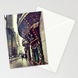 Christmas on 5th Avenue Stationery Cards