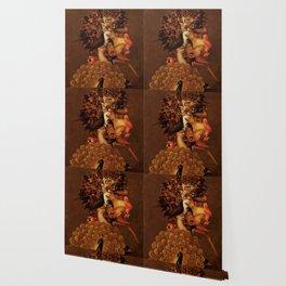 "Giuseppe Arcimboldo ""Four elements - Air"" Wallpaper"