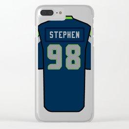 Shamar Stephen Jersey Clear iPhone Case