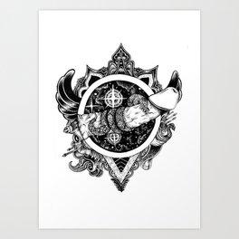 Snakebite Art Print