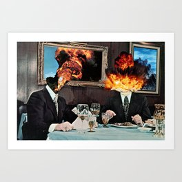 Every Act of Creation is First an Act of Destruction Art Print