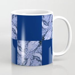 Season of the Square - Sapphire Check Coffee Mug