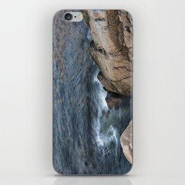 Swirling ocean iPhone Skin